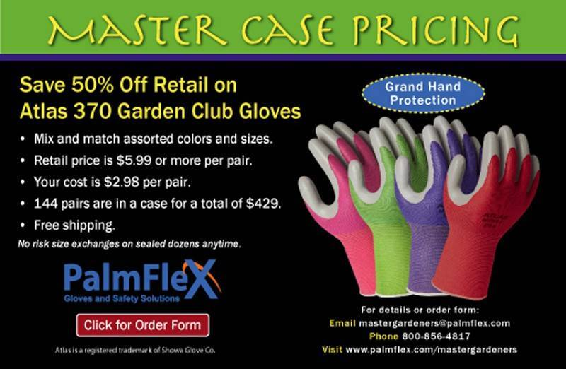 Save And Fundraise With Our Gardening Specials. Visit Our Atlas 370 Garden  Gloves Page To Take Advantage!