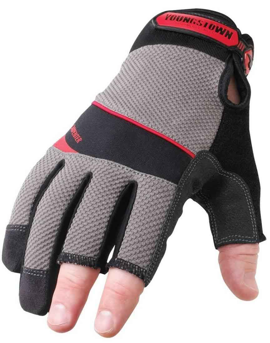 Fingerless Work Gloves For Sale Palmflex