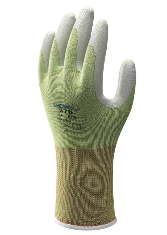 4 Pairs Atlas Showa 370 Nitrile Gloves LARGE Gardening Work Paint NEW w// tags