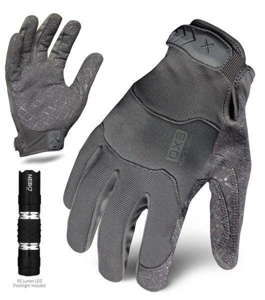 Ironclad Tactical Grip Gray