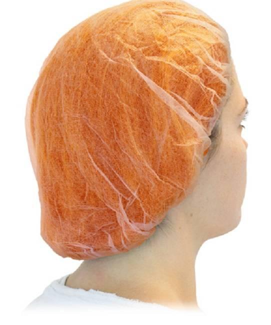SZ Orange Bouffant