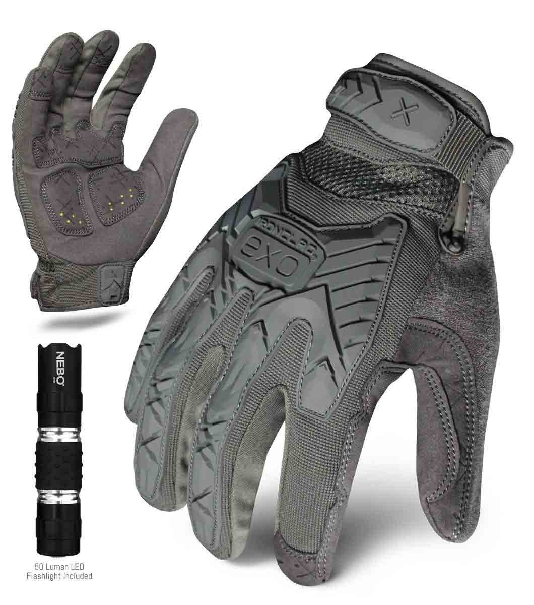 Ironclad Tactical Impact Gray