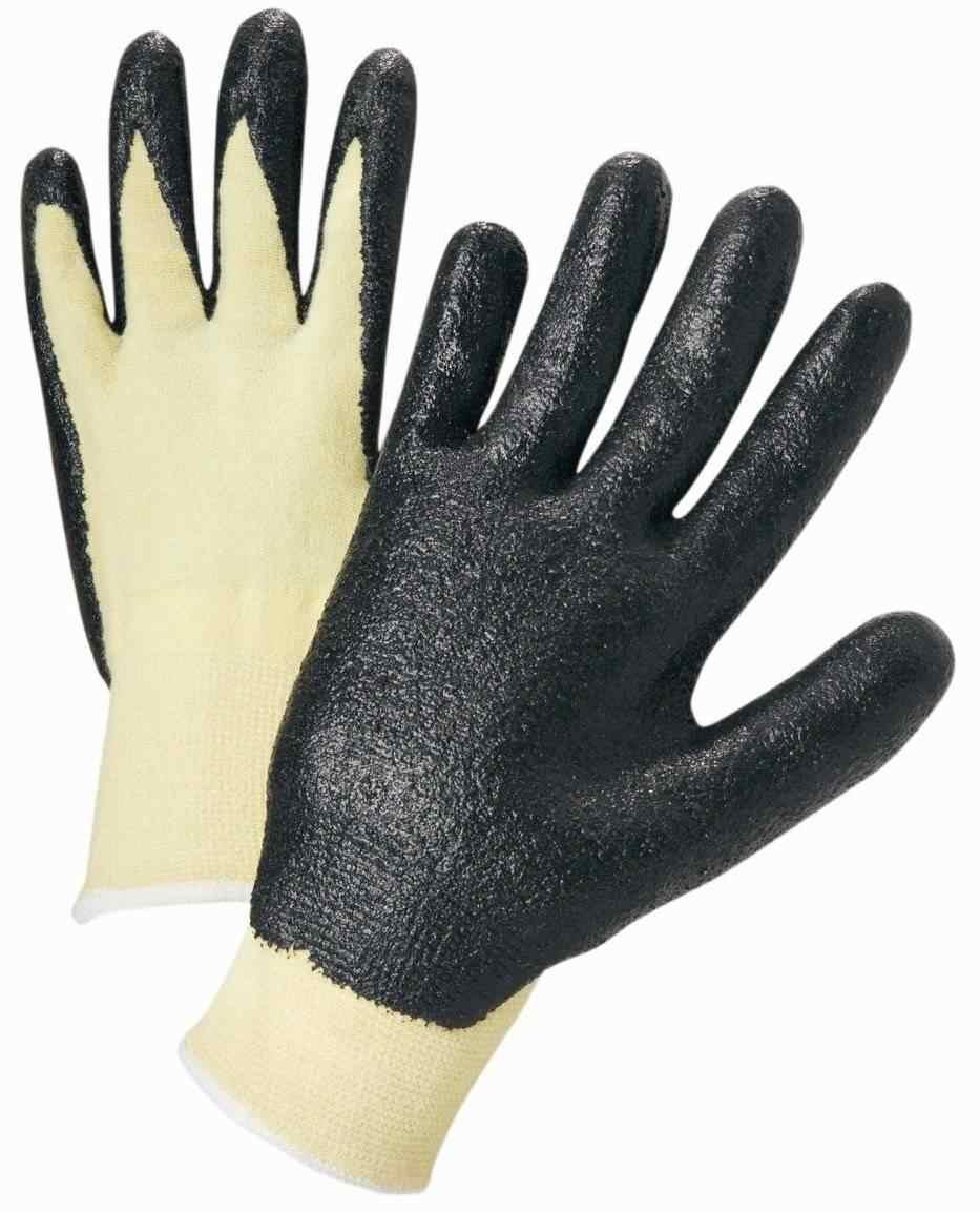West Chester Nitrile Coated Kevlar Ansi 2 Gloves Palmflex
