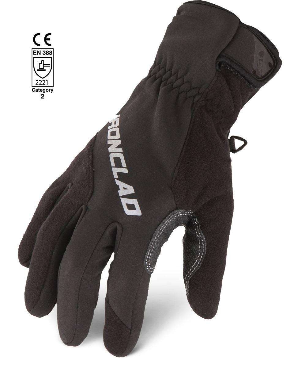 Ironclad Summit Reflective Gloves Palmflex