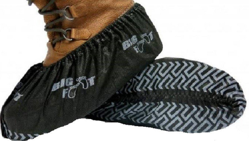 Bluemed Big Foot Non Slip Shoe Covers Size Xxl Made In North America Palmflex