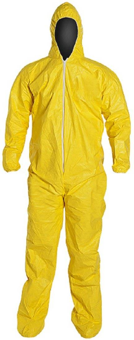 Palmflex Gt Chemical Resistant Gt Dupont Tychem Coveralls