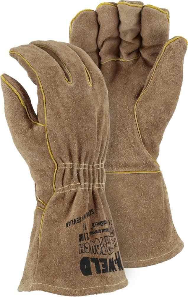 Majestic 2100 Fire Retardant Kevlar Gloves Palmflex