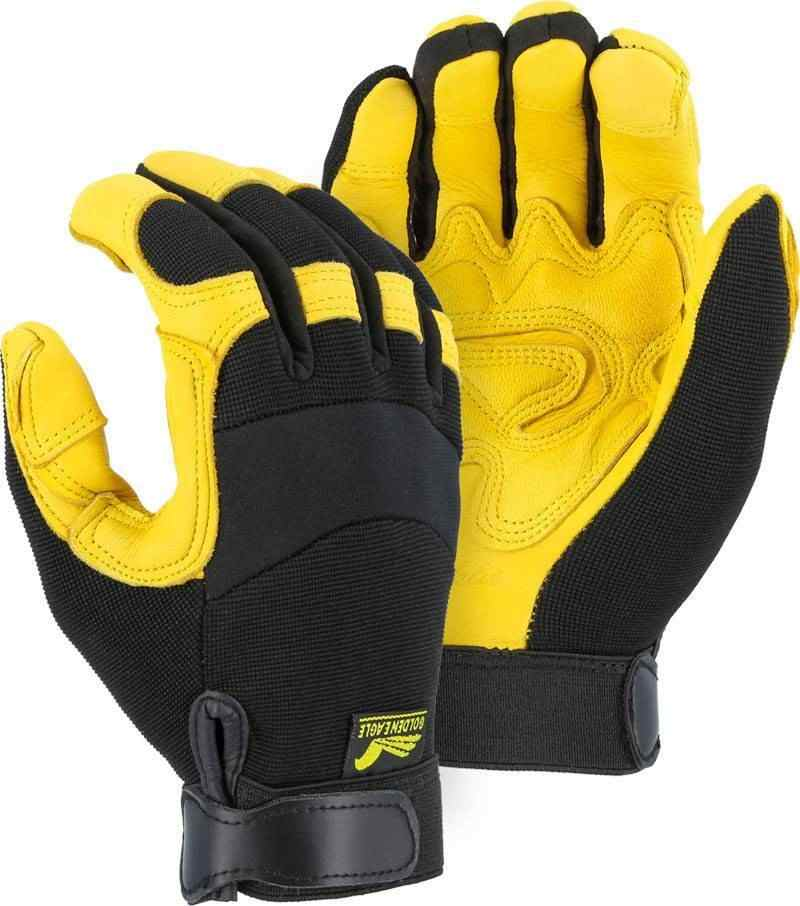 Majestic 2150dp Golden Eagle Reinforced Gloves Palmflex