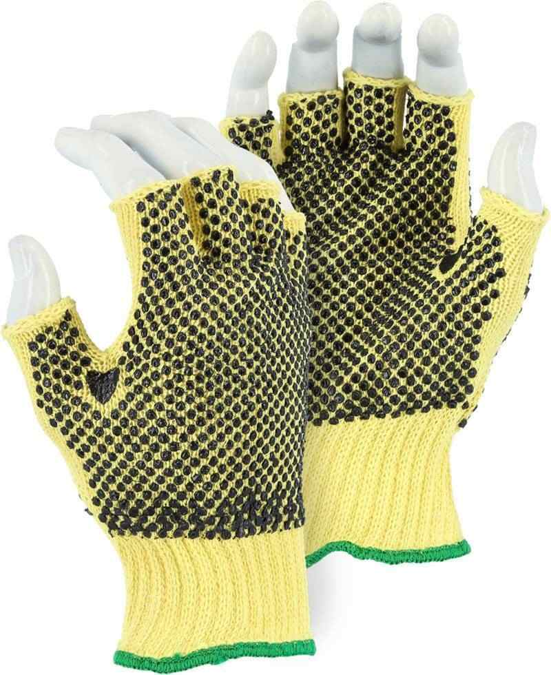 Majestic 3110f Fingerless Kevlar Gloves Dozen Made In