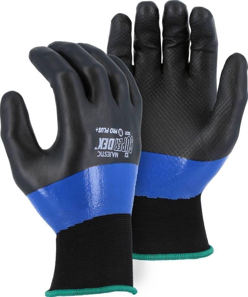 Majestic 3237 Superdex Supergrip Waterproof Gloves Palmflex