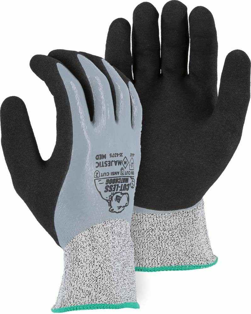 Majestic 35 6375 Hppe Cut Level 3 Gloves Palmflex