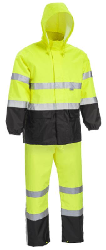 West Chester Ansi Class 3 Hi Vis Rain Suit Palmflex