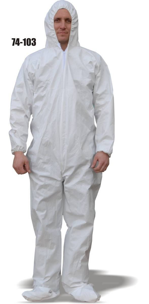 Majestic 74 103 Comfortex Microporous Coveralls With