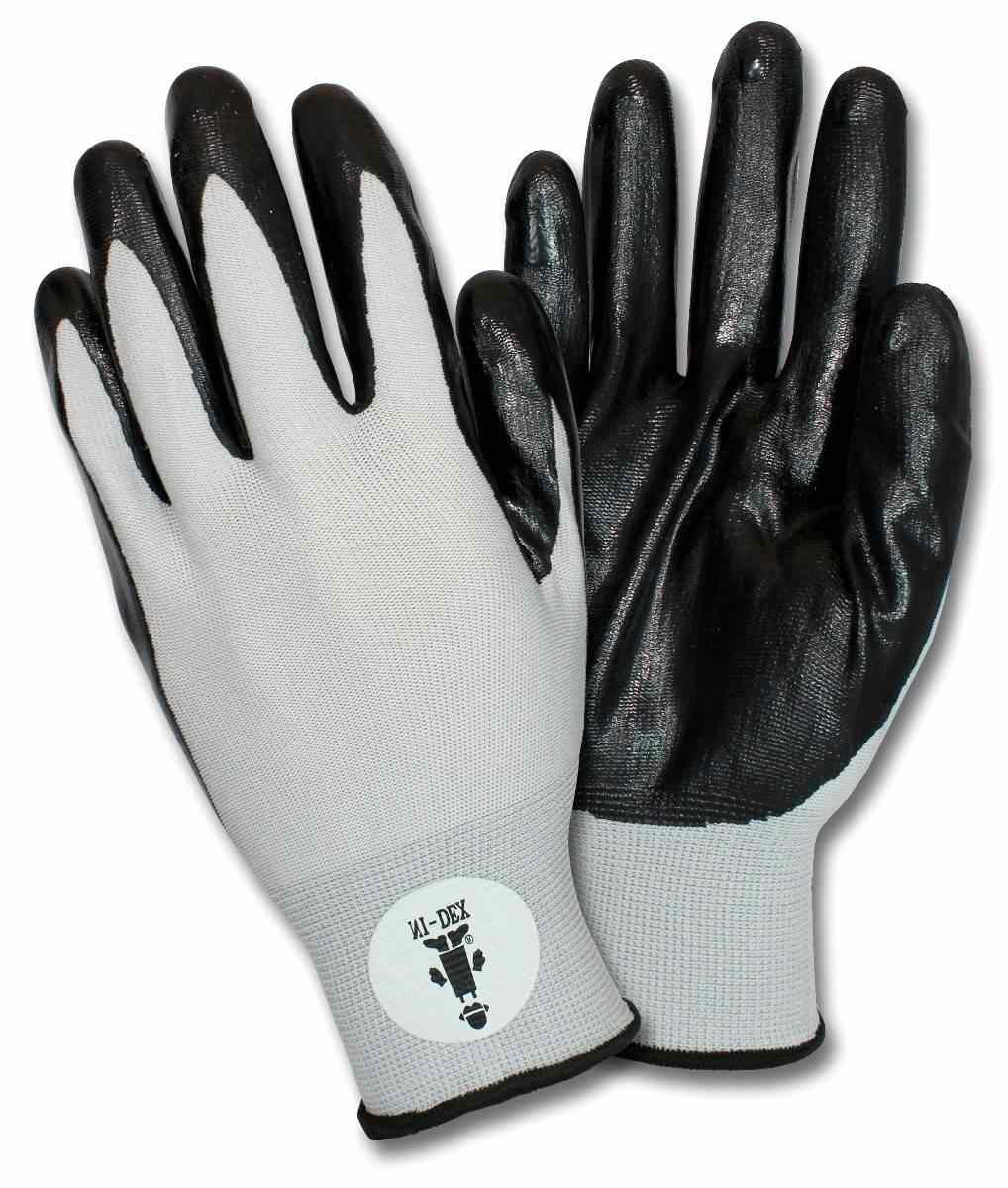 Safety Zone G Nidex High Dexterity Nitrile Coated Gloves