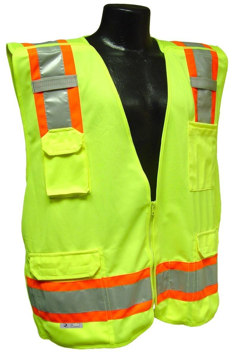 Radians Sv46 Surveyor Class 2 Breakaway Safety Vest Palmflex