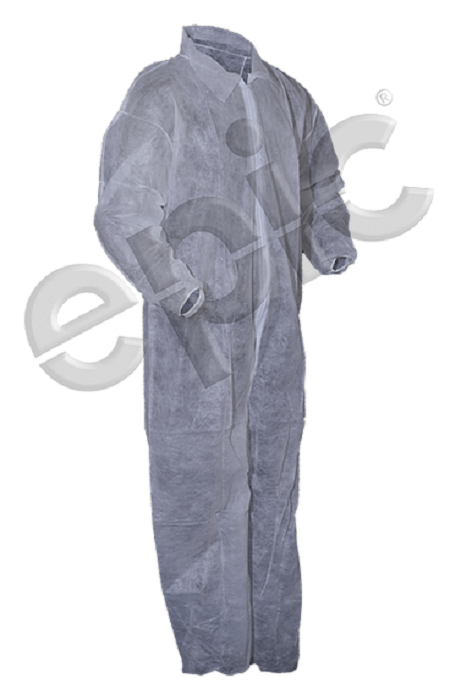 Tian S 210881 Polypropylene Low Lint Coveralls With