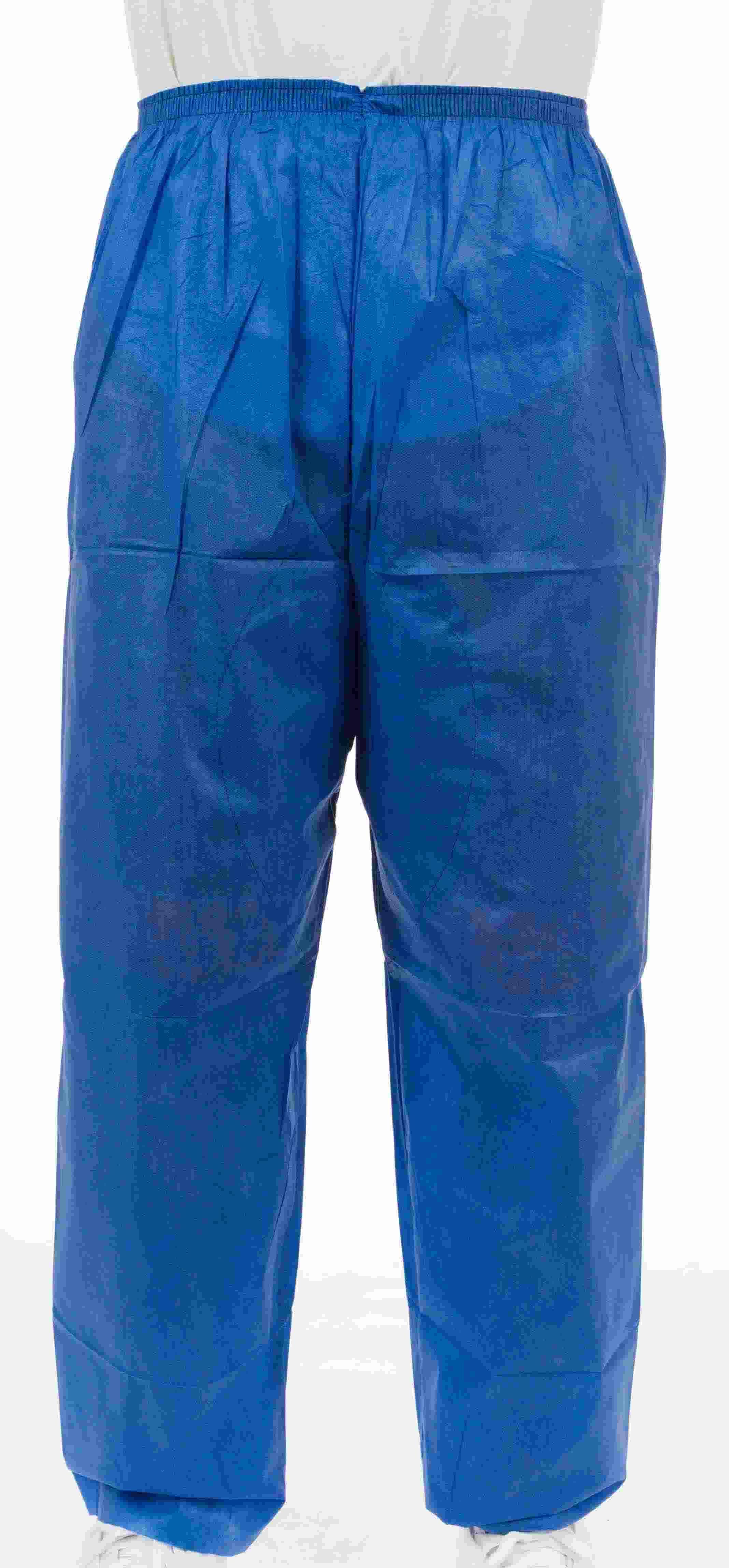 910f7a3b7c9 Enviroguard Soft Scrubs FS2062B Denim Blue Soft Scrub Pants with Wide  Elastic Waist   PalmFlex