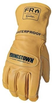 Youngstown FR Waterproof Leather Gloves with Kevlar Cut Level 2