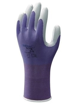 Showa Atlas 370 Garden Gloves - Extra Small - Purple