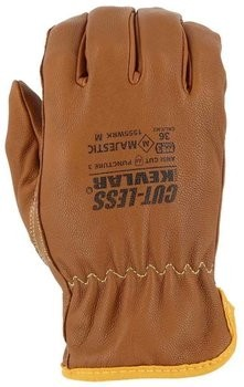 Majestic 1555WRK Cut-less Goatskin Oil & Water Resistant Gloves - Cut Level 5