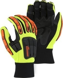 Majestic 21242 Knucklehead Hi Vis Gloves