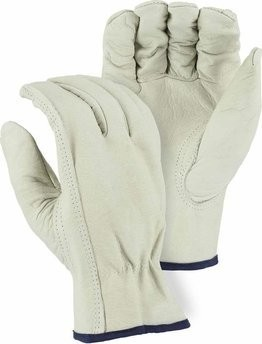 Majestic 2510 B-Grade Grain Cowhide Driver Gloves