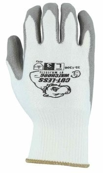 Majestic 35-1306 Cut-Less Watchdog® Seamless Knit Glove with Polyurethane Palm Coating - Cut Level 3