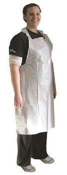 Ammex Disposable Poly Aprons 1.75 MIL