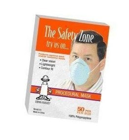 Safety Zone Blue Cone Mask