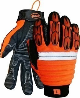 Boss 1JM500 Hi-Vis Impact Plus Gloves