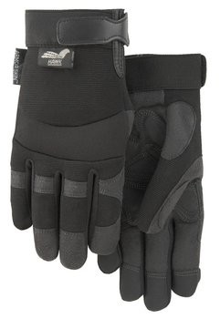 Majestic 2139 Black Armor Skin Reinforced Gloves