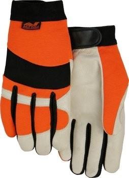 Majestic 2152HV Bald Eagle Hi Vis Gloves