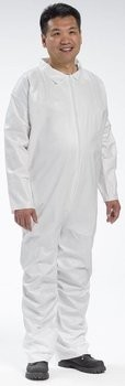 West Chester 3650 Microporous Coveralls with Zipper Front and Collar