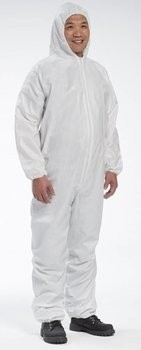 West Chester 3656 Microporous Coveralls with Hood and Elastic Cuffs