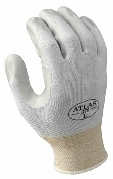 Showa Atlas 370 Assembly Gloves - White
