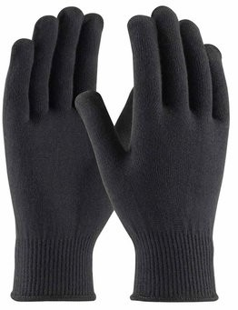 PIP 41-001 Seamless Knit 13 Gauge Black Thermax Gloves