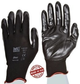 Showa TAA 4540 Zorb-It Black-Lite Gloves Made in USA