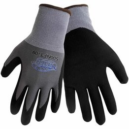 Global Glove #500NFT Tsunami Grip New Foam Technology Nitrile Dipped Gloves