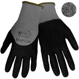 Global Glove #530MFG Tsunami Grip Double Dipped Mach Finish Nitrile Gloves