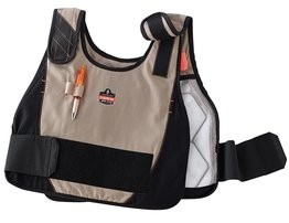 Ergodyne Chill-Its 6215 Phase Change Premium Cooling Vest & Charge Pack
