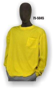 Majestic 75-5045/5046 Hi Vis Long Sleeve Shirt- NON ANSI