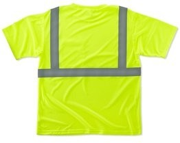 Ergodyne GloWear 8289 Hi Vis T-Shirt - ANSI 2