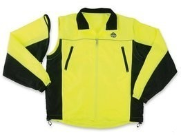Ergodyne GloWear 8350 Reversible Hi Vis Wind Jacket