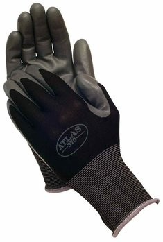 Showa Atlas 370 Nitrile Gloves - Black
