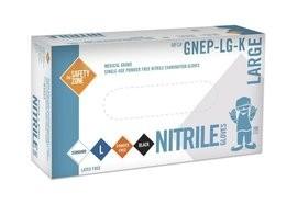 Safety Zone GNEP  Nitrile Exam Powder Free Gloves