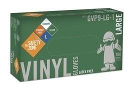 Safety Zone GVP9-1 5 Mil Vinyl Powder Free Gloves