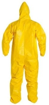 DuPont TyChem Coveralls With Hood #QC127S