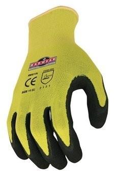 Radians RWG10 Radwear Silver Series Hi Viz Knit Dip Gloves