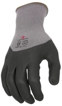 Radians RWG12 Foam Dipped Dotted Nitrile Gloves