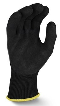 Radians RWGD108 Axis D2 Cut Protection Level A4 Black Dyneema Work Gloves